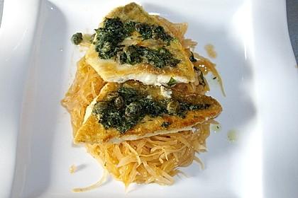 Kabeljau überbacken mit Kartoffel-Gurken-Radieschen-Salat 3