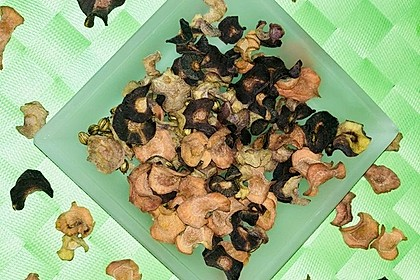 Süße orientalische Karottenchips (Bild)