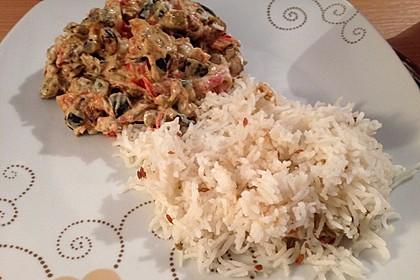 Auberginen-Curry mit Joghurtsauce 10