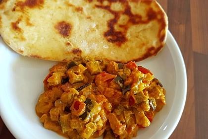 Auberginen-Curry mit Joghurtsauce 11