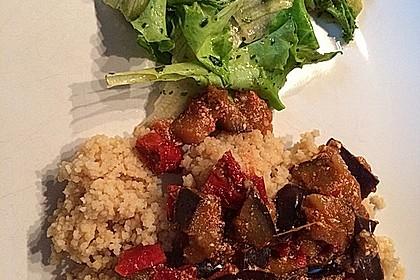 Auberginen-Curry mit Joghurtsauce 23