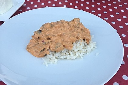 Auberginen-Curry mit Joghurtsauce 28