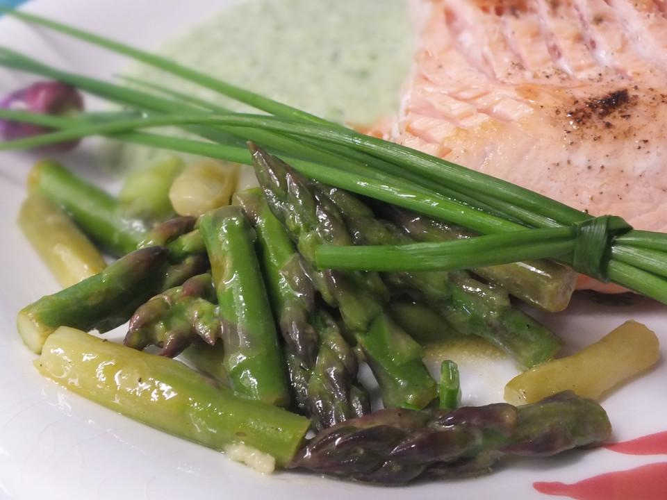 Salat Vom Grunen Spargel Von Hauchzart Chefkoch De