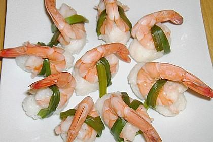 Nigiri - Sushi mit Garnelen 2