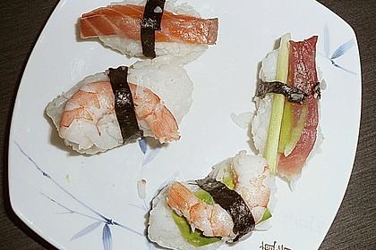 Nigiri - Sushi mit Garnelen 4