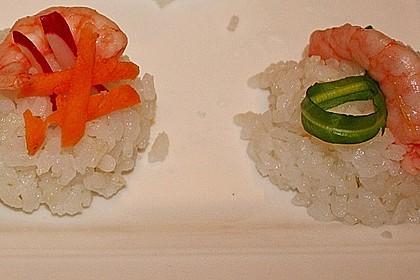 Nigiri - Sushi mit Garnelen 6