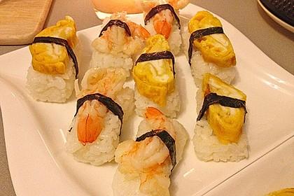 Nigiri - Sushi mit Garnelen 1