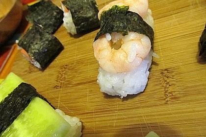 Nigiri - Sushi mit Garnelen 3