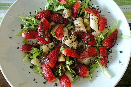 Spargel mit Erdbeersauce Low Fett 30 1