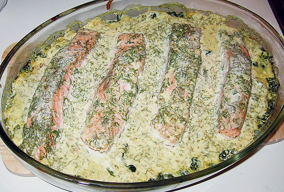 Lachs Spinat Auflauf Von Emely Chefkoch
