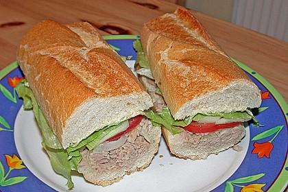 Thunfisch - Baguette