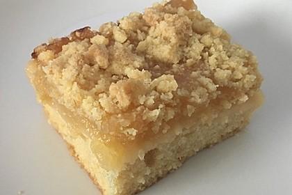 Streusel Apfel Blechkuchen 5