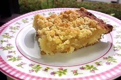 Streusel Apfel Blechkuchen 7