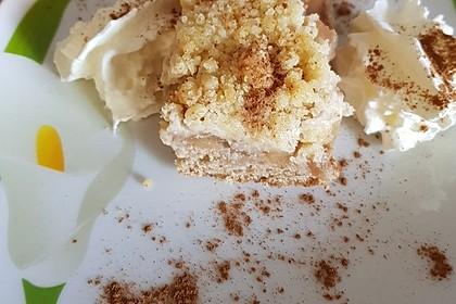 Streusel Apfel Blechkuchen 15