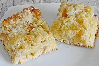 Streusel Apfel Blechkuchen 2