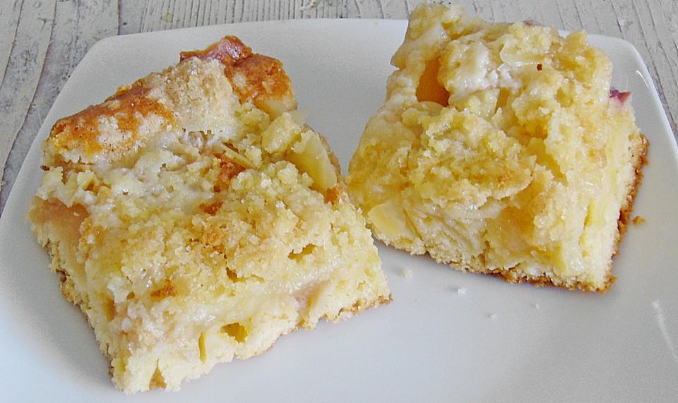 Streusel Apfel Blechkuchen Von Mopsi Chefkoch De