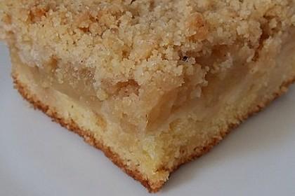 Streusel Apfel Blechkuchen