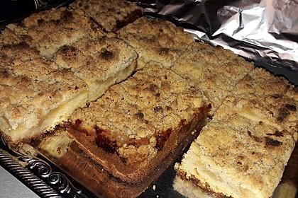 Streusel Apfel Blechkuchen 21