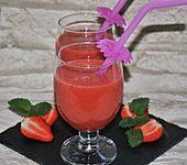 Erdbeershake ohne Milch (Bild)