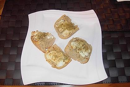 Baguette mit Ziegenkäse und Honig 5