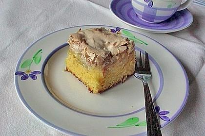 Rhabarberkuchen mit Mandelbaiser 2
