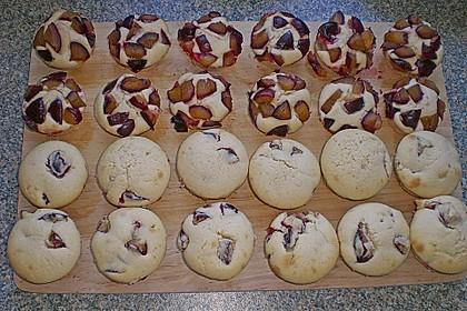 Saftige Pflaumen - Muffins (Bild)
