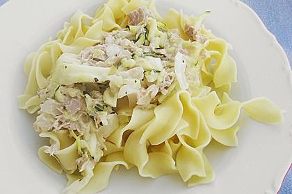 Zucchini - Thunfischpasta 3