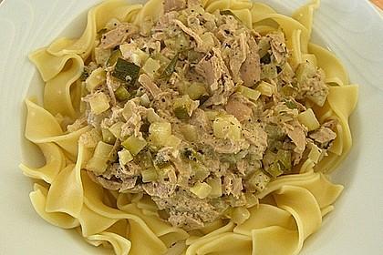 Zucchini - Thunfischpasta 1