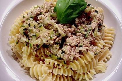 Zucchini - Thunfischpasta 2