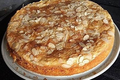 Quark - Apfelkuchen ohne Boden (Bild)