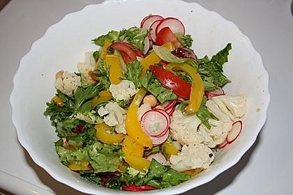 Blumenkohlsalat mit Hähnchen