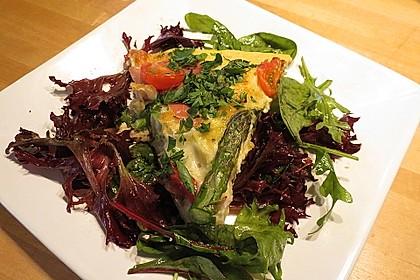 Tortilla mit Spargel und Manchego (Bild)