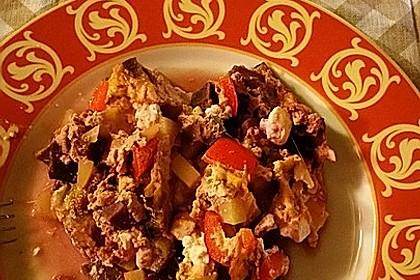 Süßkartoffel-Gratin mit Feta 13