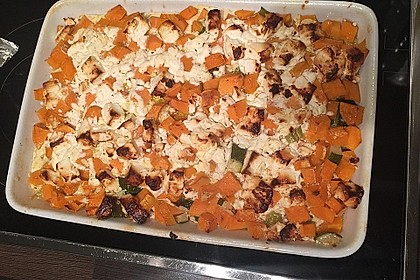 Süßkartoffel-Gratin mit Feta 8