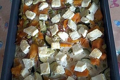 Süßkartoffel-Gratin mit Feta 18