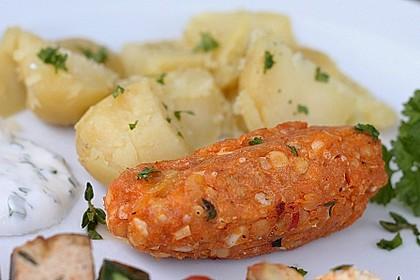 Vegetarische Cevapcici für den Grill 1