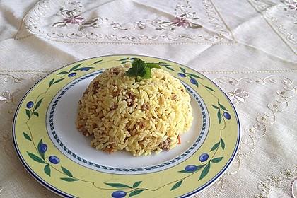 Curry-Basmatireis nach Mutters Art