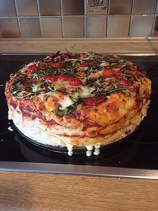 Pizzatorte Von Biolecta Chefkoch De