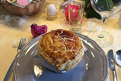 Parmesansuppe mit Spargel und Reis 2