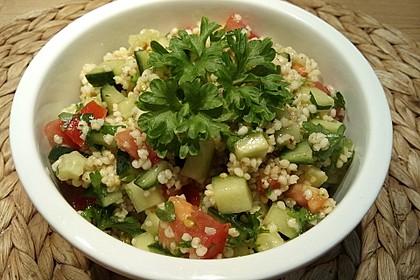 Erfrischender Hirsesalat