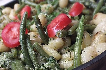 Gnocchi mit Minzpesto und Brunnenkresse 2