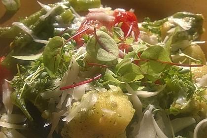 Gnocchi mit Minzpesto und Brunnenkresse 3