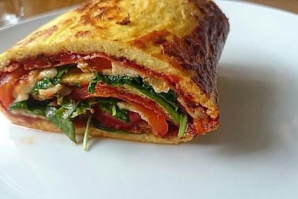 Low Carb Pizzarolle 2