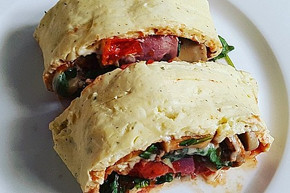 Low Carb Pizzarolle 54
