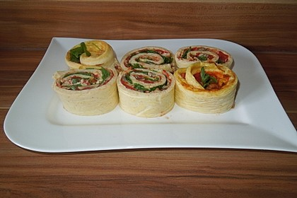 Low Carb Pizzarolle (Bild)