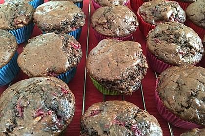 Schoko-Himbeer-Muffins 6