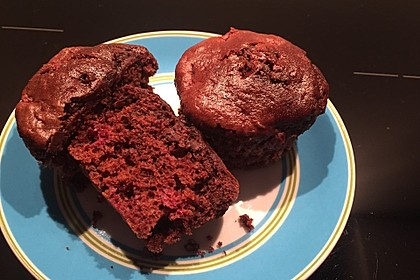 Schoko-Himbeer-Muffins 2