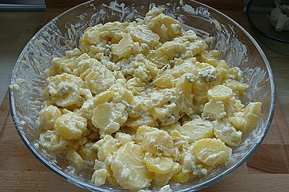 Kartoffelsalat mit Gurkenwasser 1