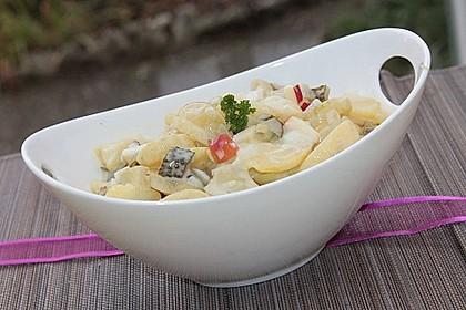 Kartoffelsalat mit Gurkenwasser