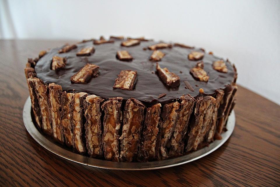 Snickers Kuchen Von Yasiliciousde Chefkoch De